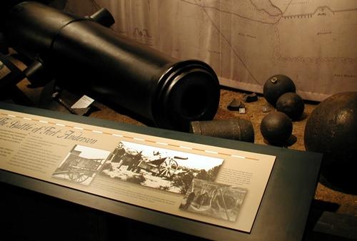 Brunswick Town Fort Anderson Canon