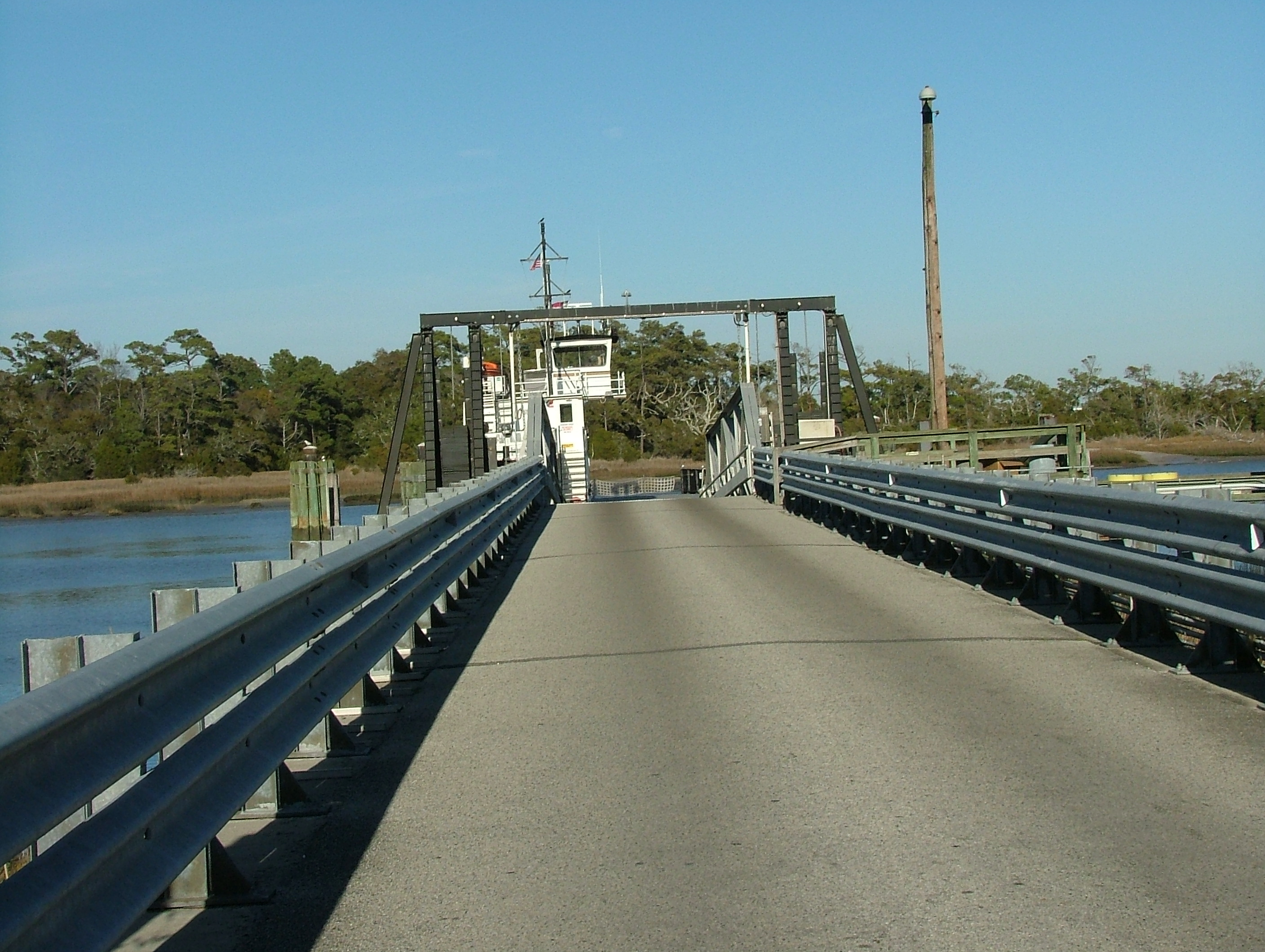 Southport Fort Fisher Ferry Ramp