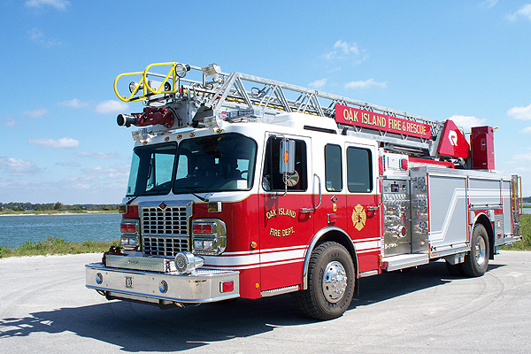 Oak Island Fire Truck