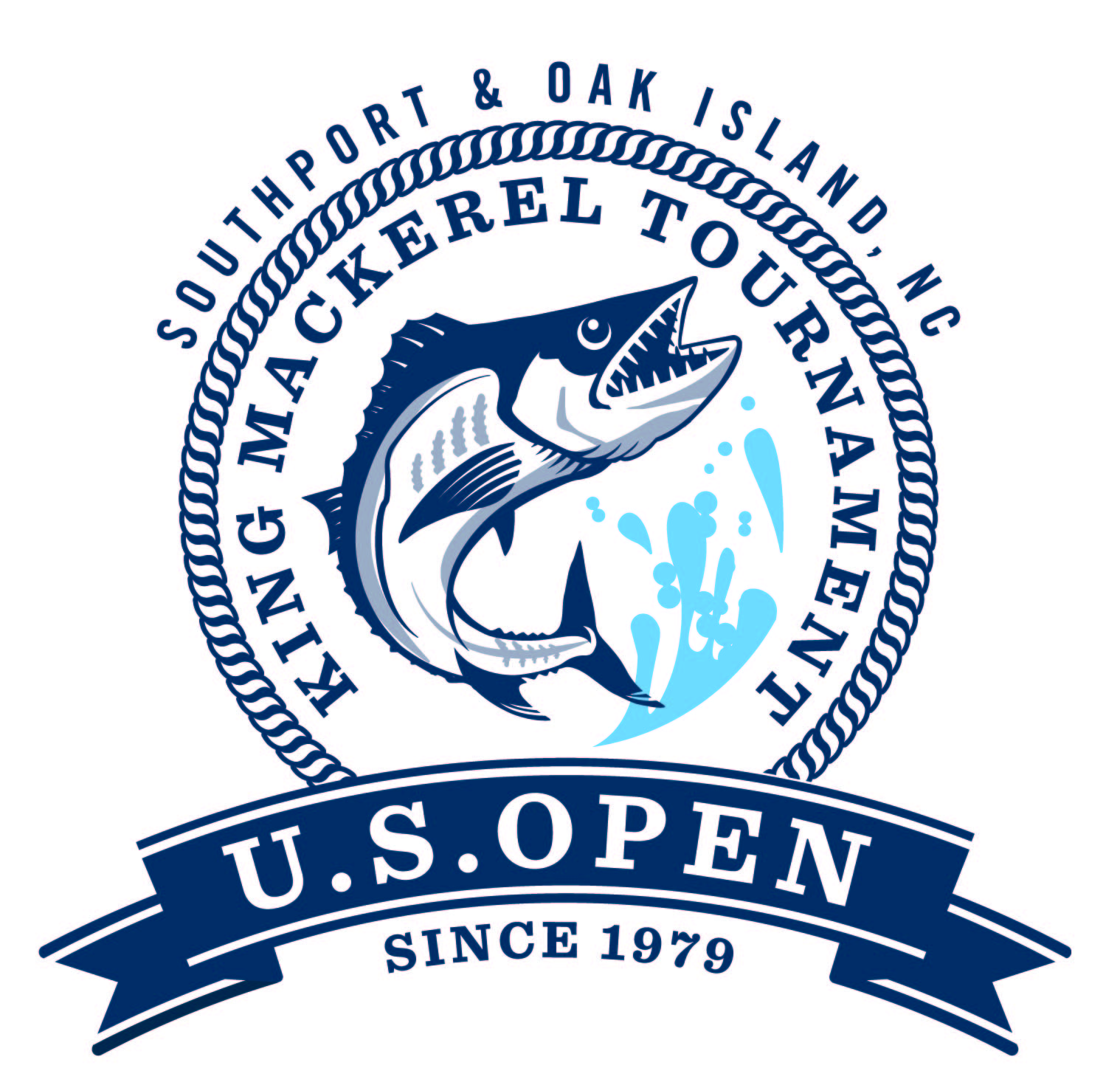 US Open King Mackerel New Logo