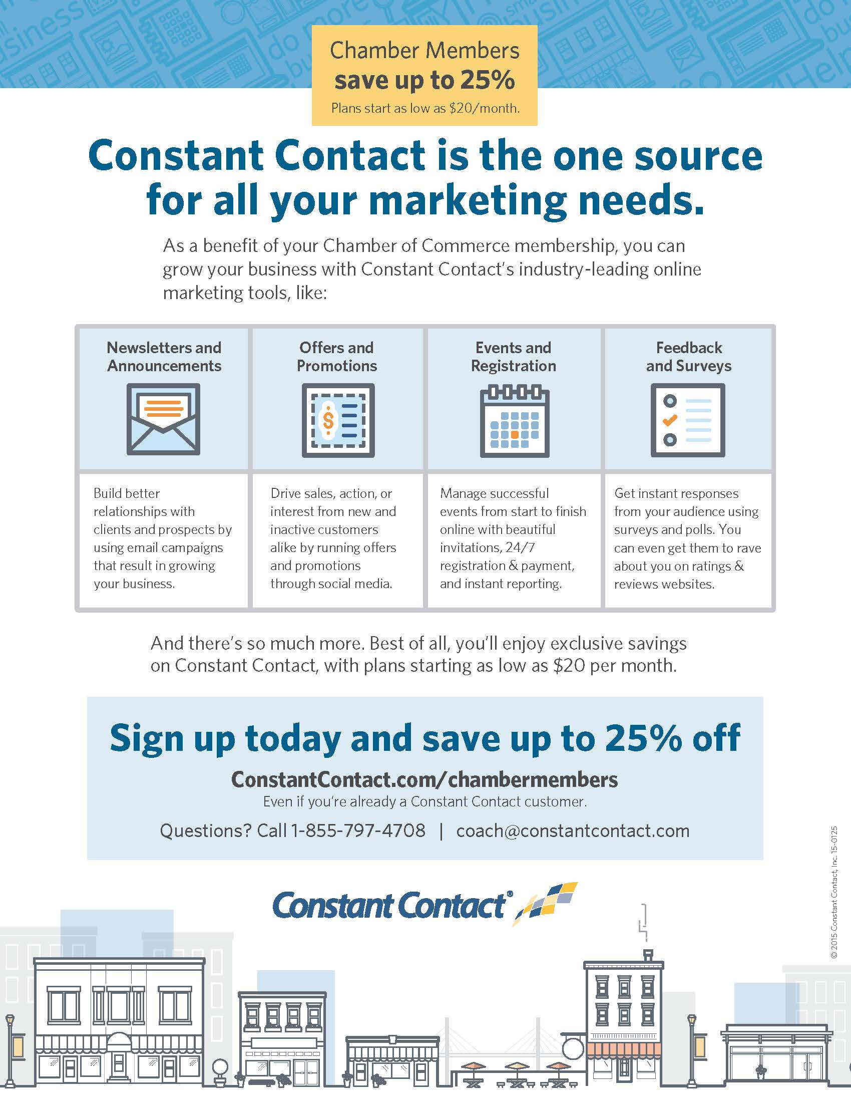 Constant Contact Discount
