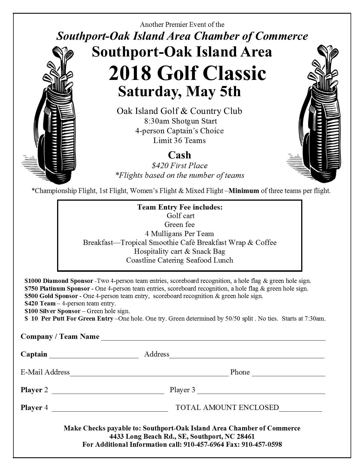 Southport-Oak Island Golf Classic