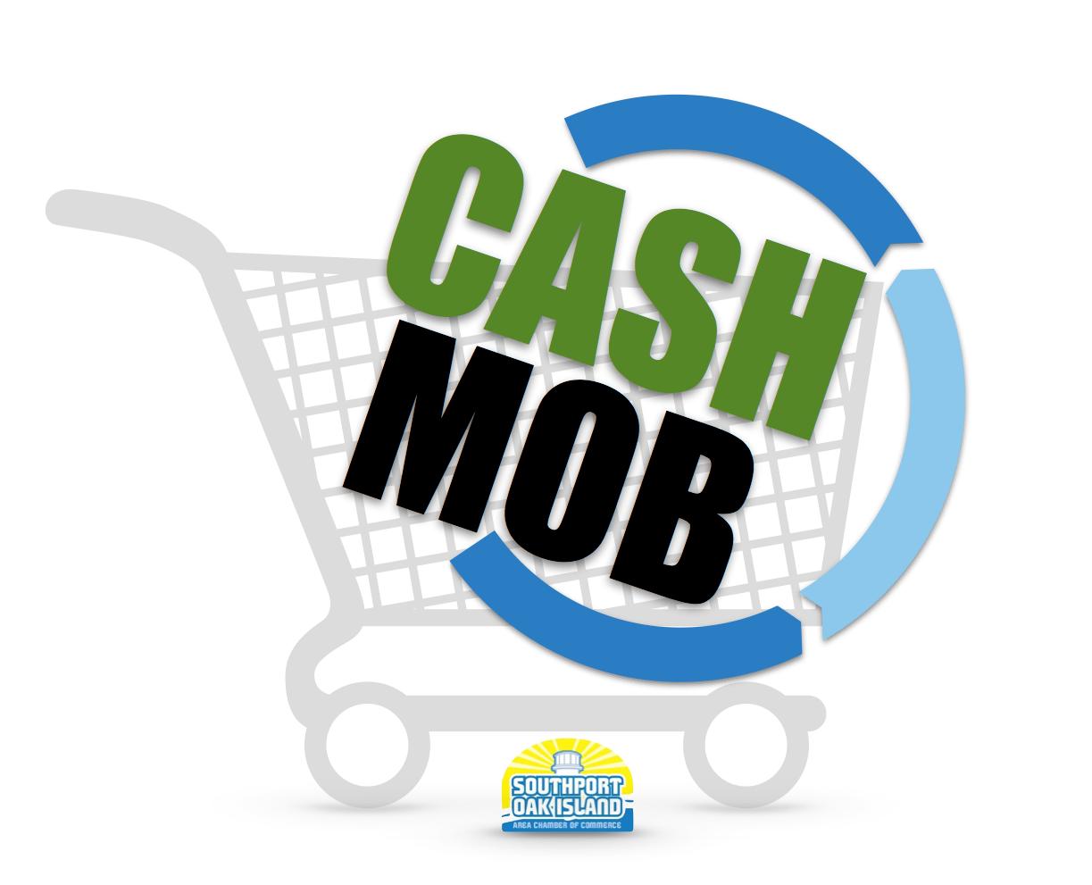 Southport Oak Island Cash Mob