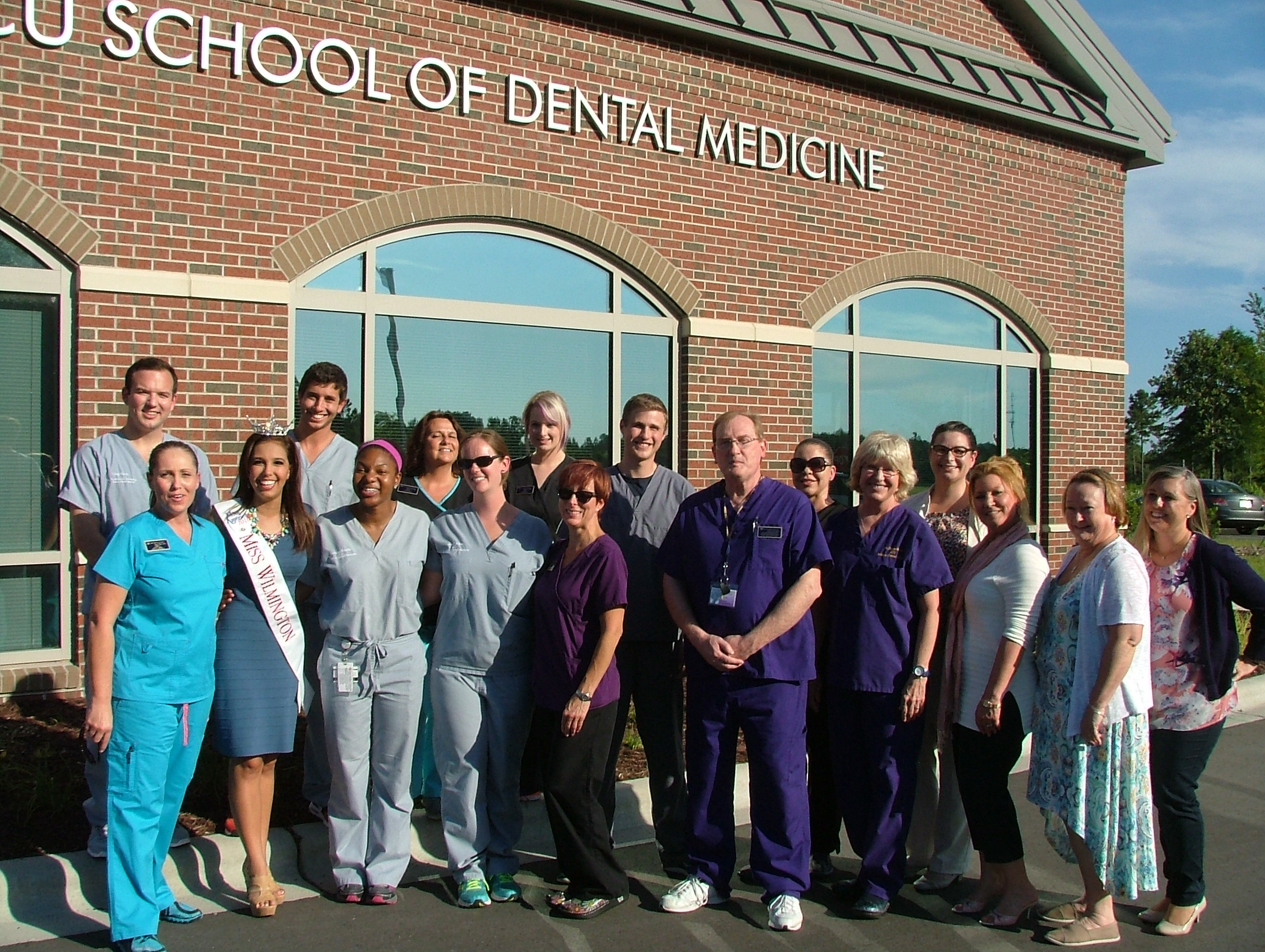 ECU dental service learning center