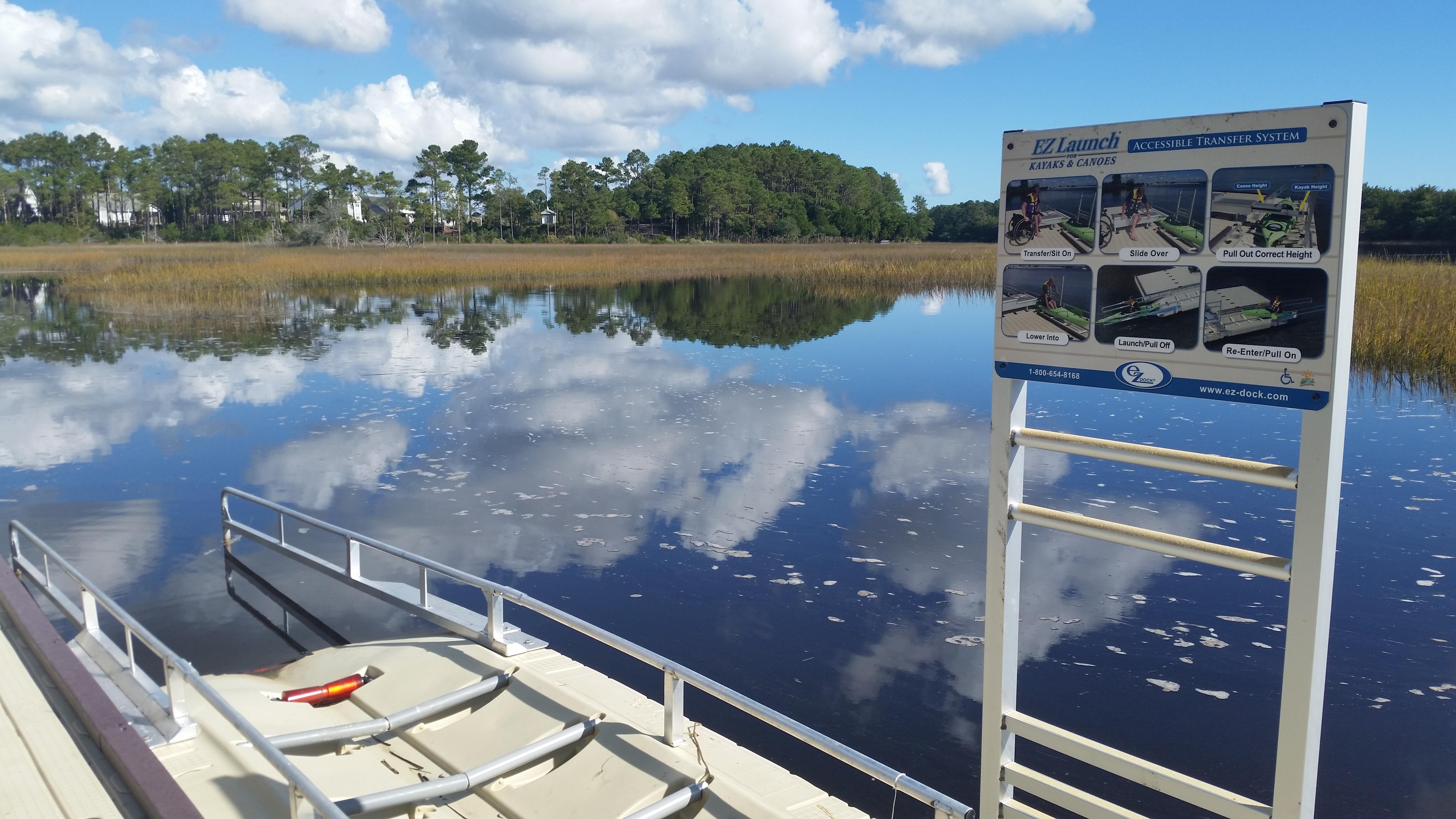 Kayak Launch Opening