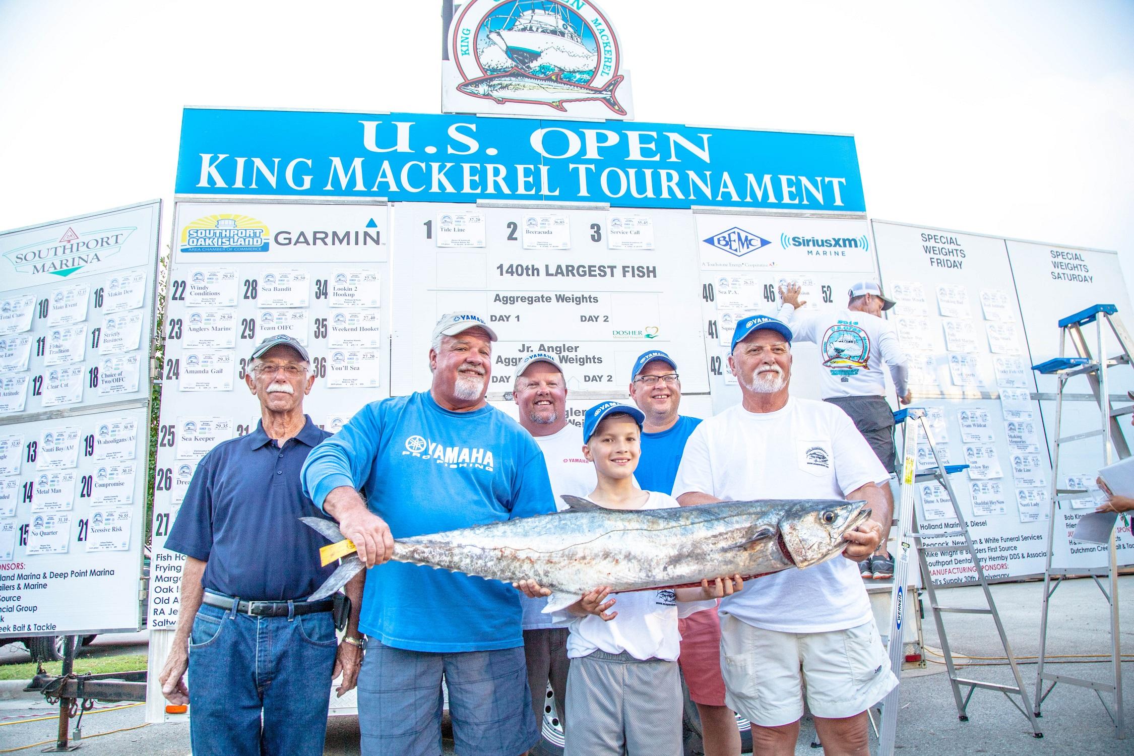 US Open King Mackerel Tournament Winner 2018
