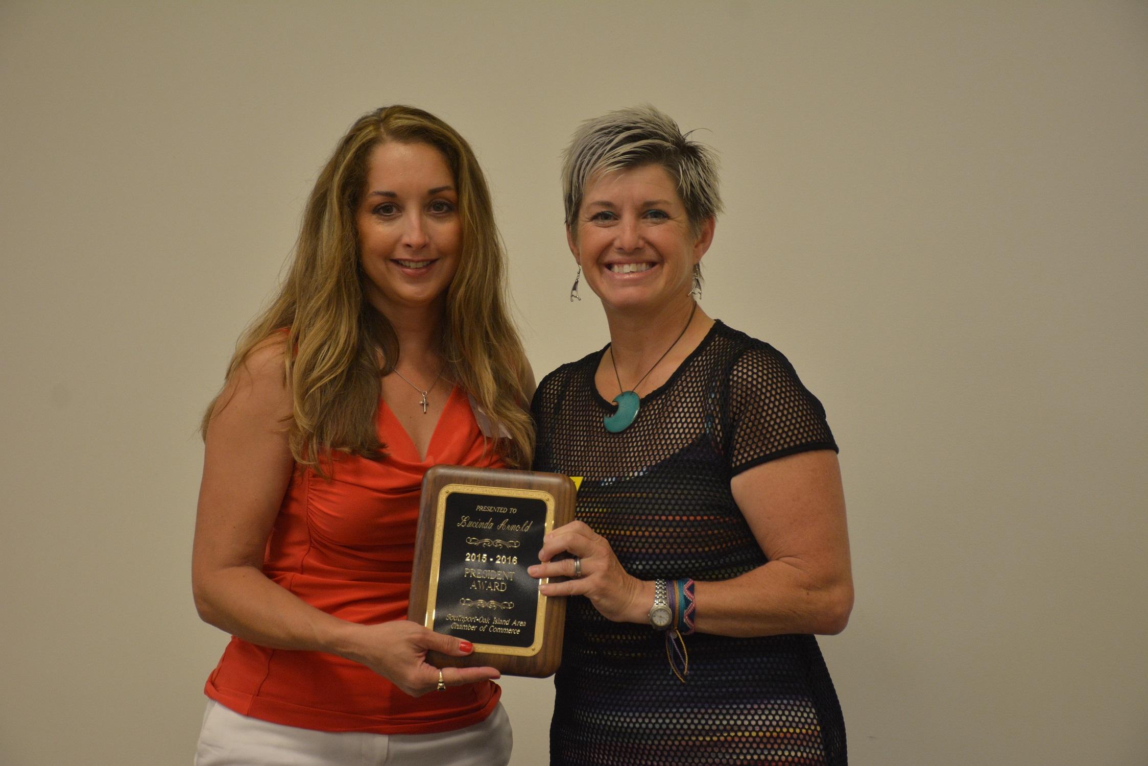 Lucinda Arnold President Award