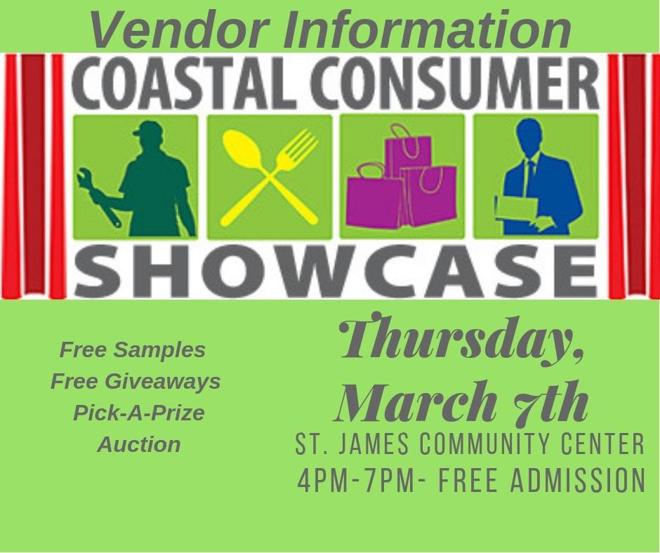 2019 Coastal Consumer Vendor Info