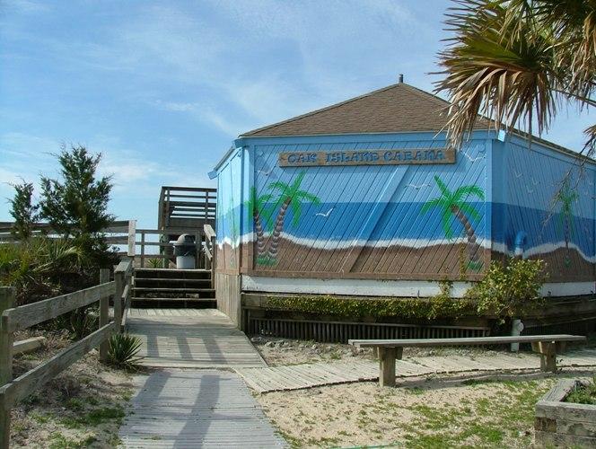 Oak Island Cabana