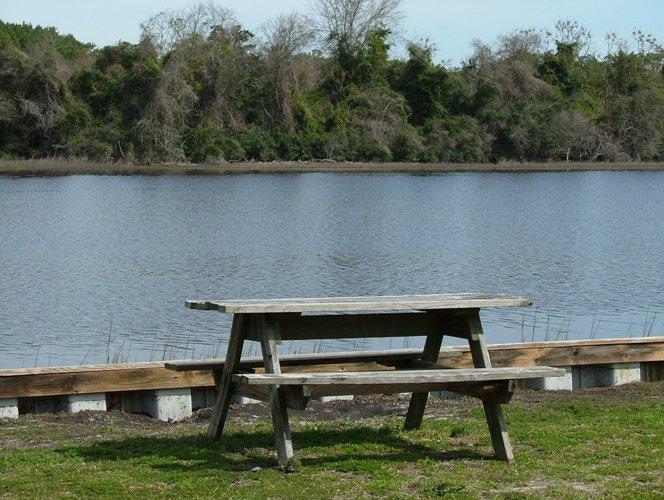Waterway Park on Intracoastal Waterway