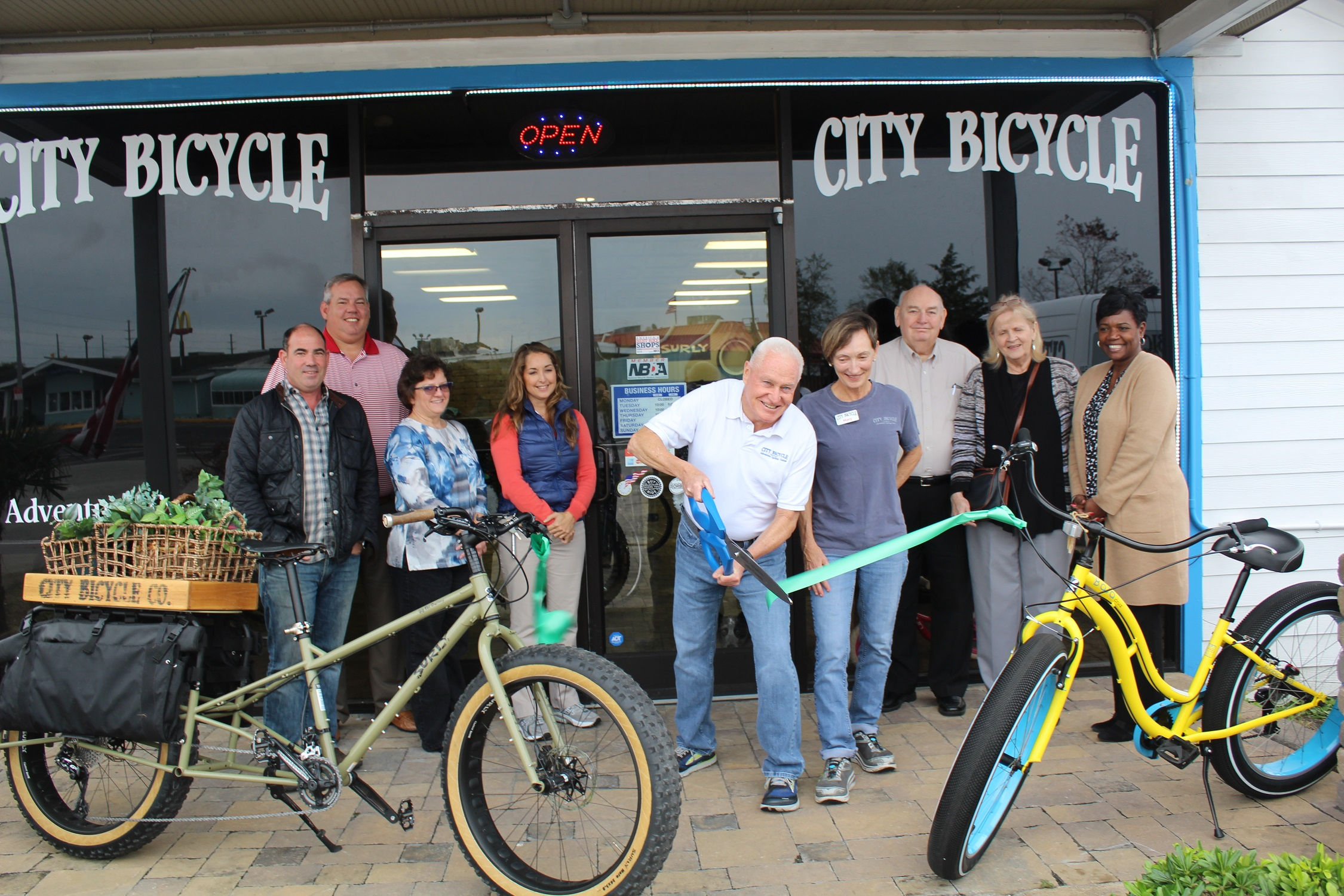 City Bicycle Company Opening