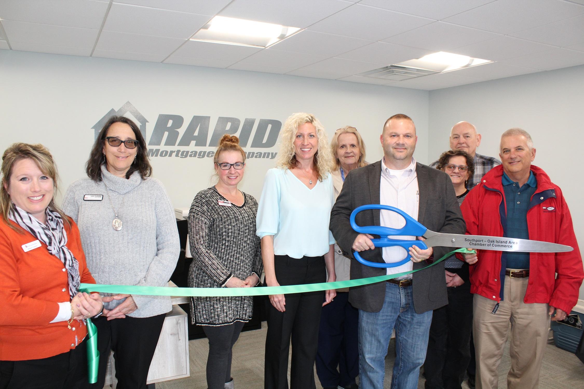 Rapid Mortgage Opens on Oak Island