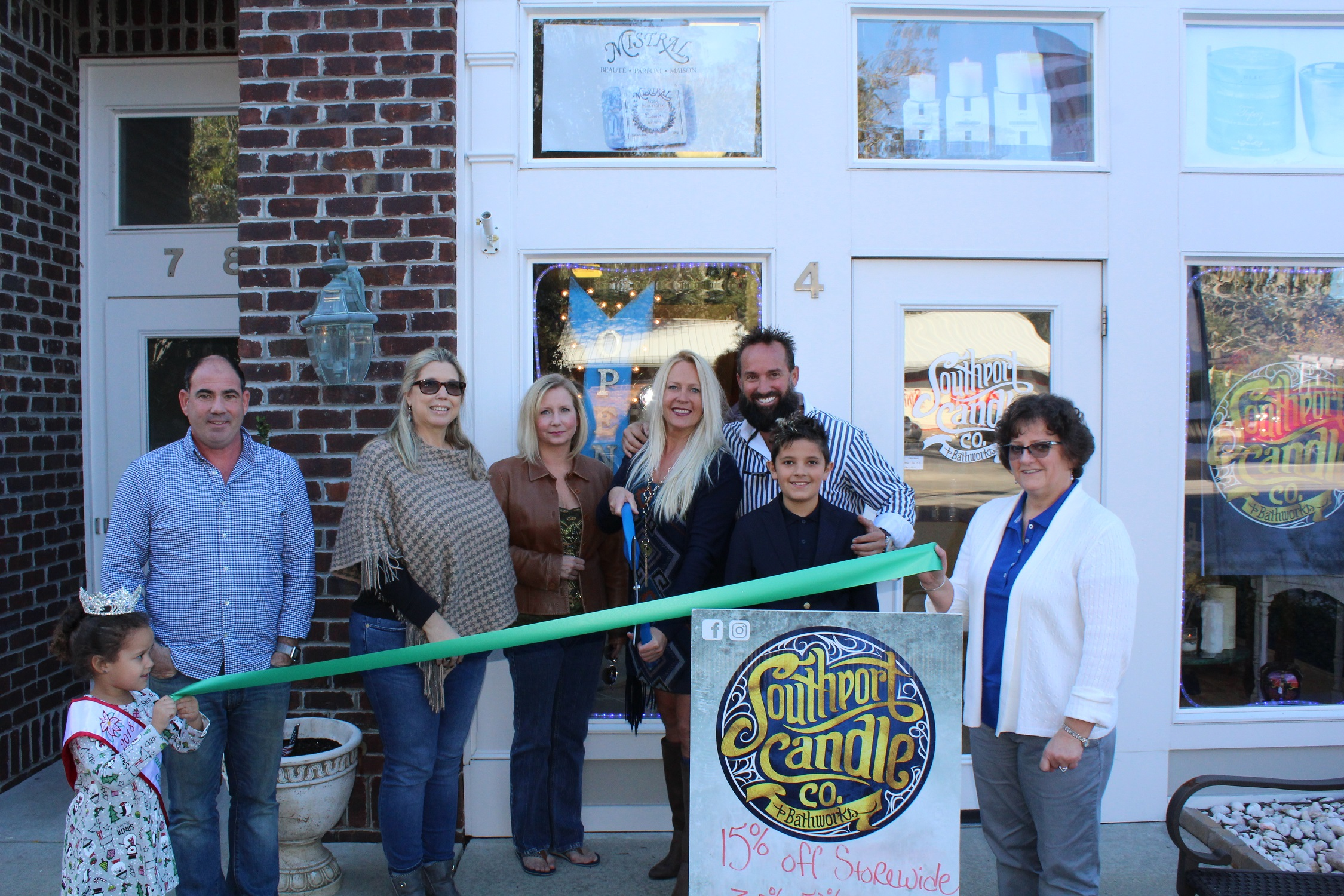 Southport Candle Company Opening