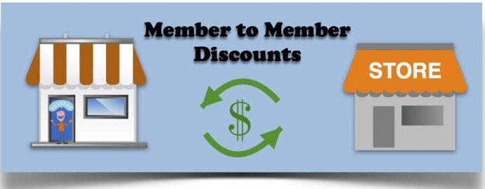 Member to Member Discounts