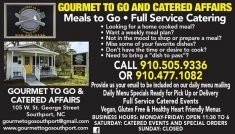 Gourmet to Go & Catered Affairs, LLC